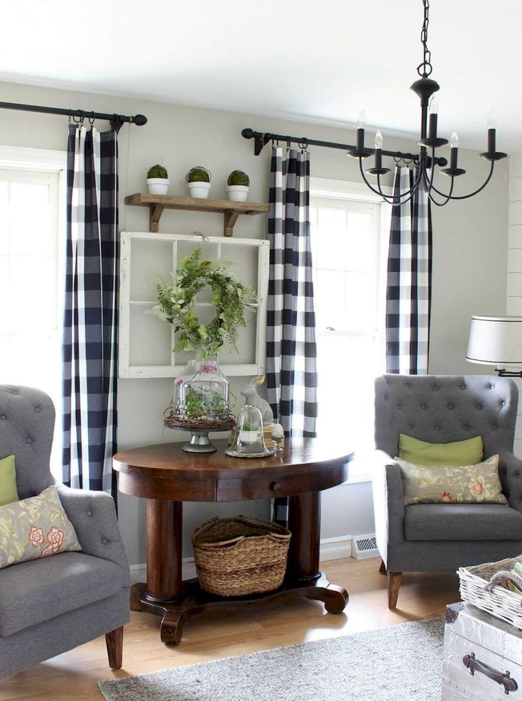 French country living room design ideas (5)