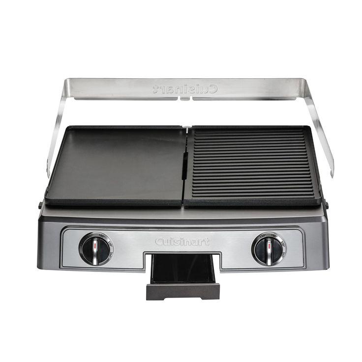 Plancha barbecue PL50E electr multif acier brossé 51,2x43,1x15,6cm