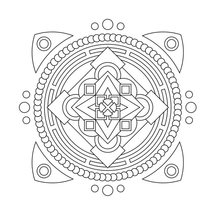 These Printable Mandala And Abstract Coloring Pages Relieve Stress Help You Meditate Higher Perspectives