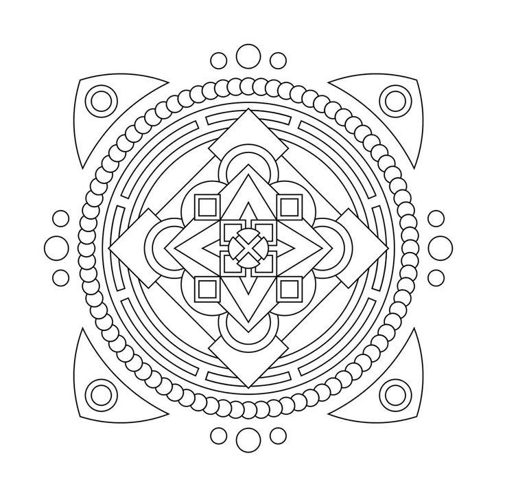 24 Best Mandala Images On Pinterest