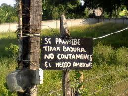 Resultado de imagen para letreros ambientales en carretera