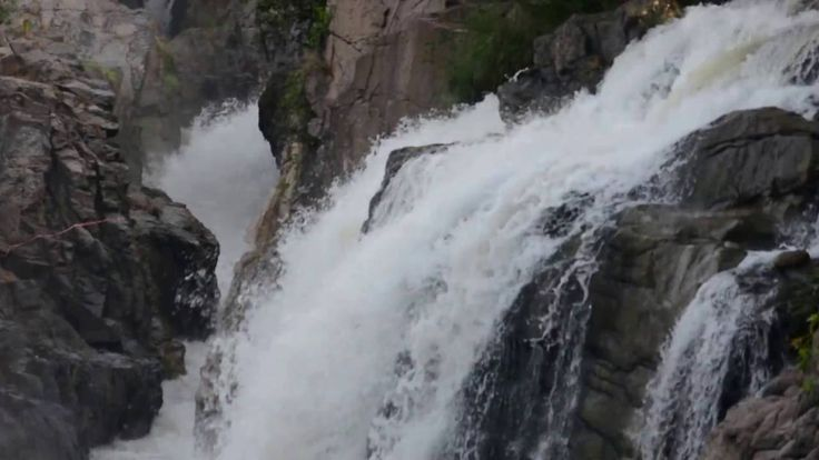 Hogenakkal Falls or Hogenakal Falls is a waterfall in South India on the river Kaveri. It is located in the Dharmapuri district of the southern Indian state of Tamil Nadu, about 180 km from Bangalore and 46 km from Dharmapuri town.  This video shot with Nikon D5200