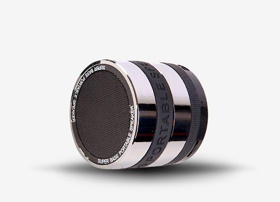 SKYWAVE A5 - Wszechstronny głośnik rezonansowy jest wspaniałą kombinacją doskonałego dzwięku w małym, przenośnym rozmiarze.   Materiał zewnętrzny: Metal Częstotliwość: 60Hz-18kHz SNR: 95Db Output: 3W  Audio: Bluetooth/ SD Card/ Line-in Zasięg Bluetooth: 10m/30ft  Kontrola głośnika: Przyciski Wymiary: 60mm x 60mm x 53mm Masa: 215g