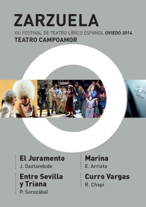 Festival de Teatro Lírico en el Camponamor #Oviedo del 27 de Febrero al 1  de Marzo