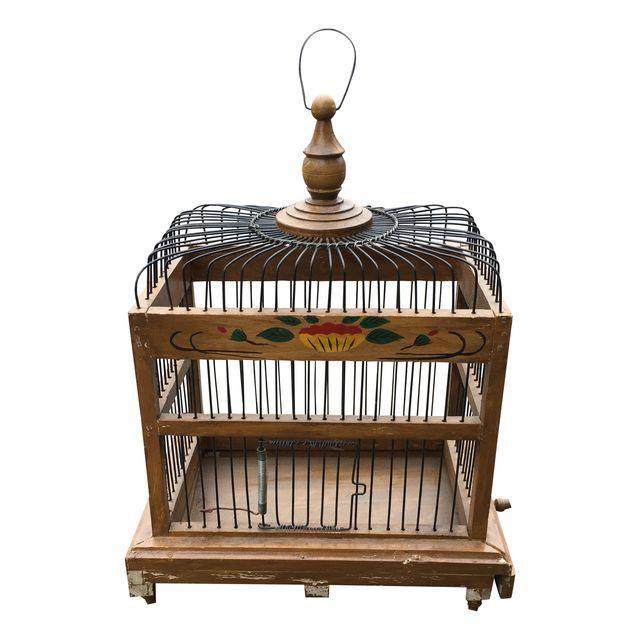 Image of Mid-Century Bird Cage