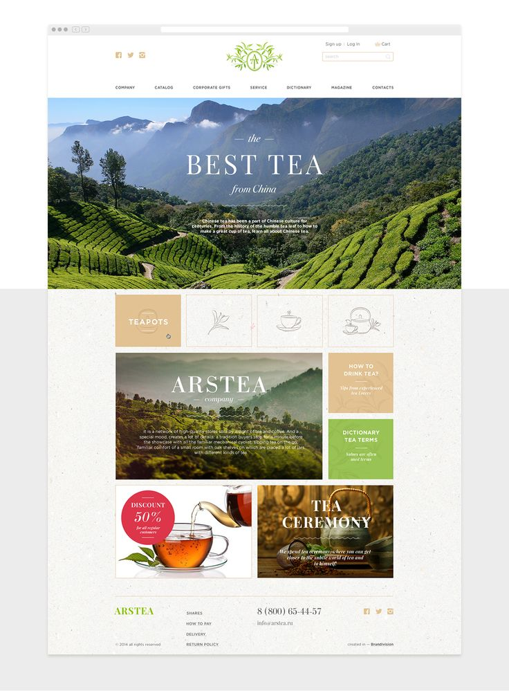 Arstea is online tea shop where you can find tea for all tastes from around the world.