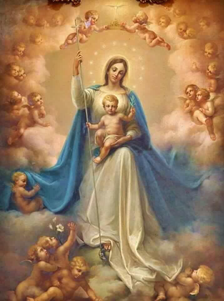 María, Reina Universal de todo lo creado.