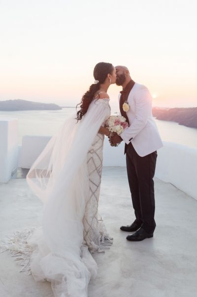 Photo by Phosart Photography & Cinematography from real destination wedding at Rocabella Hotel, Santorini
