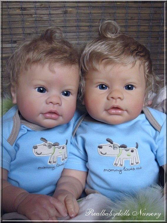 Reborn nr 90 /Adopted/ R. Schick & E. Marx - Realbabydolls Nursery