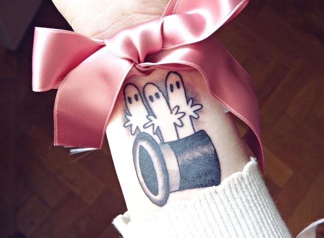 moomin tattoo/ hattifatner tattoo