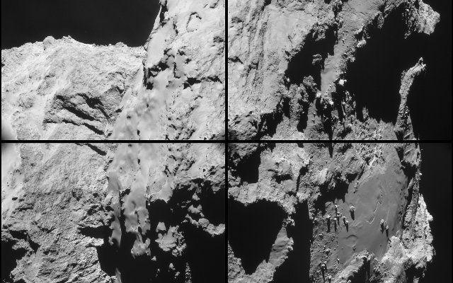 La sonda Rosetta ha avuto qualche problema nel secondo incontro ravvicinato con la cometa 67P/Churyumov-Gerasimenko #missionispaziali #esa