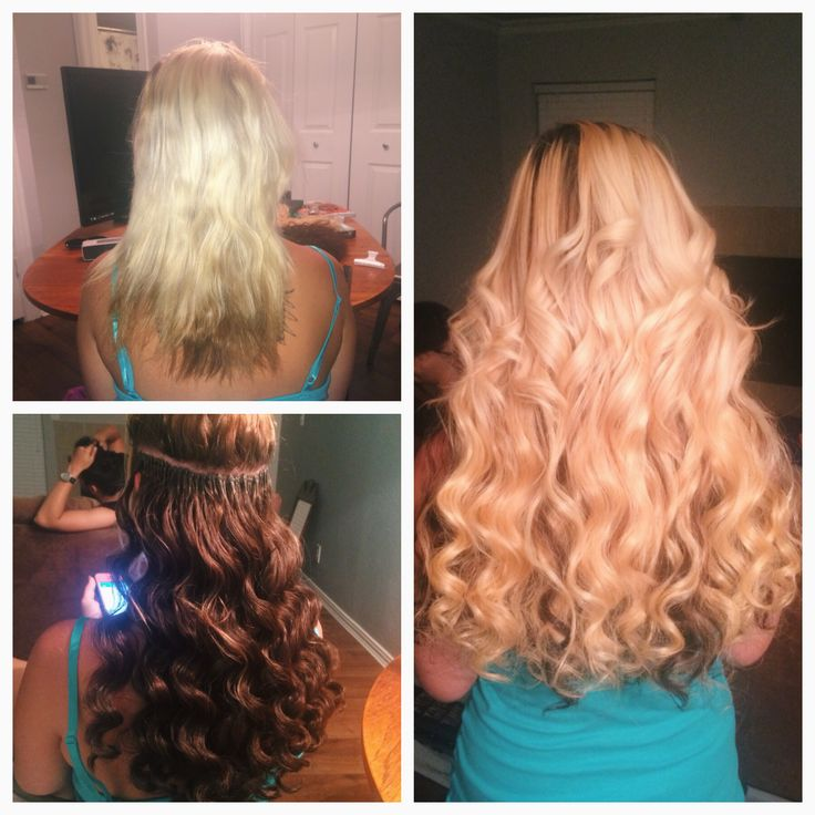 BEST hair EXTENSIONS for FINE hair - YouTube