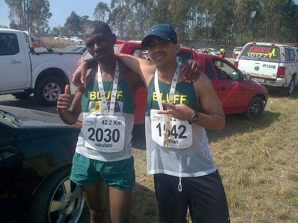 @Nathan Mallonee Martin #Mandelamarathon - 2013 Mandela Marathon