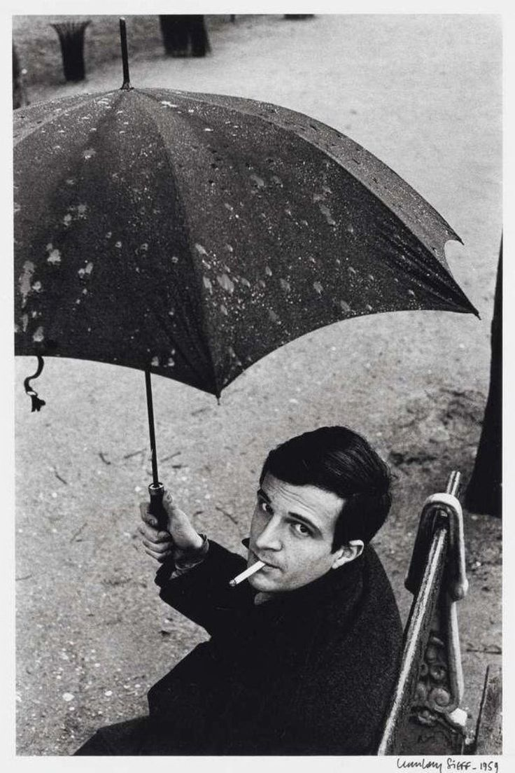 François Truffaut par Jean loup Sieff, 1959