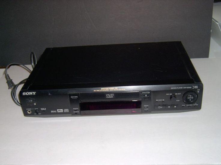 Vintage Sony DVD/CD Video CD player model # DVPS550D #Sony