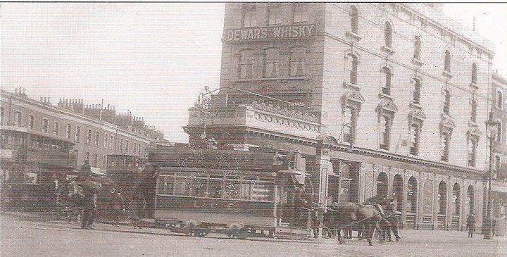 The Eastern Hotel/Pub Limehouse, London - early 19th Century - Intersections of East India Dock Road, West India Dock Road, Burdett Road and Commercial Road