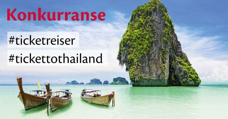 Instagram-konkurranse! Vinn din tur til Thailand
