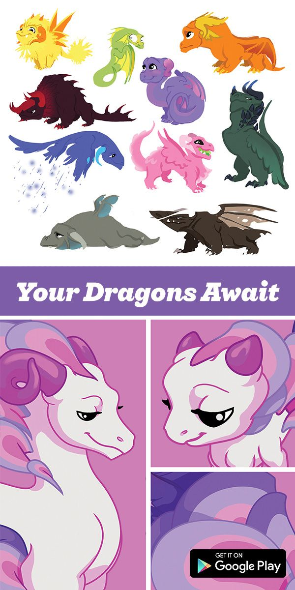 Have You Played DragonVale Yet? It's The Original Dragon Breeding Game. Breed, Hatch,