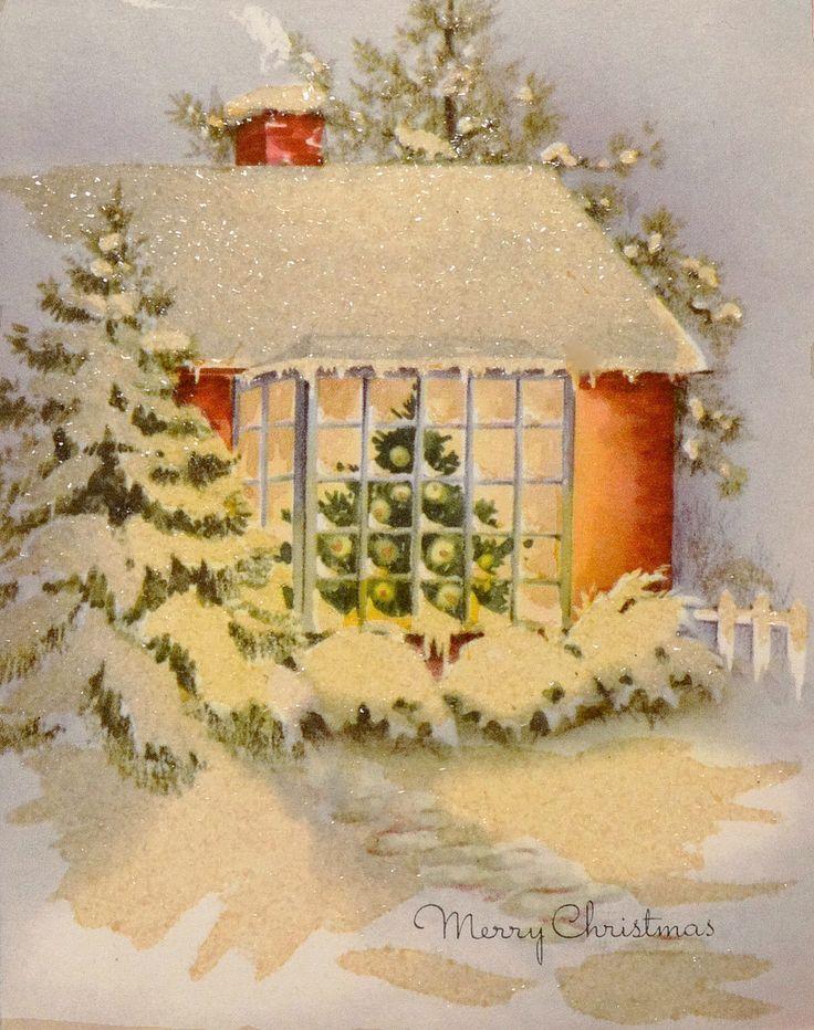682b243f3ed90fd910cd5c82d362900e  vintage christmas cards vintage holiday