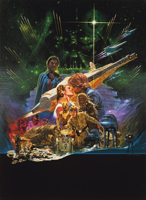 Gallery: Unseen Star Wars Poster Concept Artwork - The Empire Strikes Back Theatrical One-Sheet c.1980