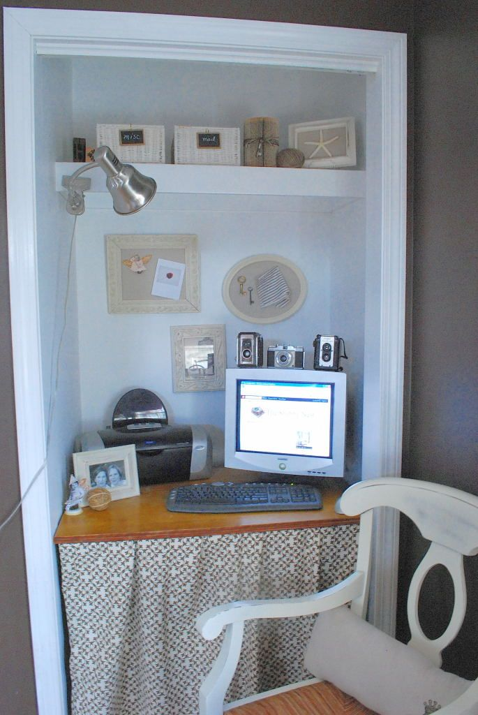 Closet Office Space