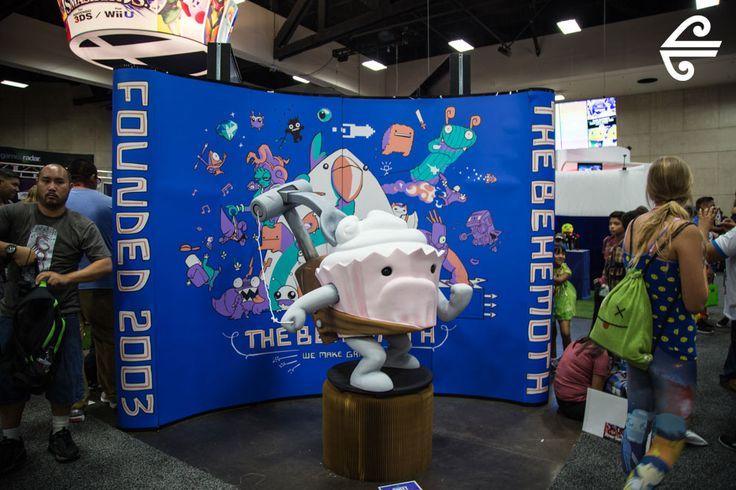 Comic-Con International 2014 #AirNZ #Comic-Con #SanDiego #Gaming #Arcade