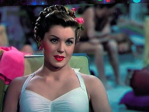 Ester Williams....really love her movies!  She was one of my grandma's favorites.