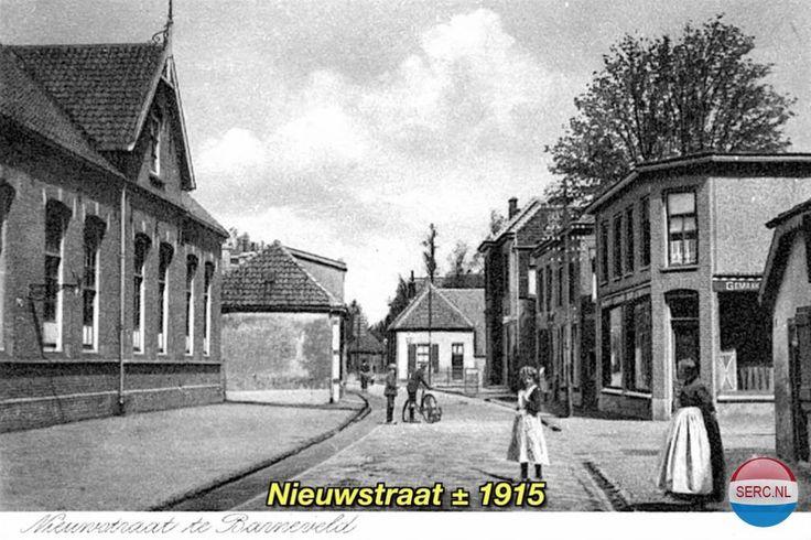 Nieuwstraat Barneveld (jaartal: 1910 tot 1920) - Foto's SERC