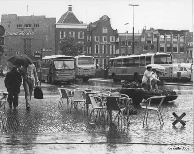 Grote markt Groningen 1985