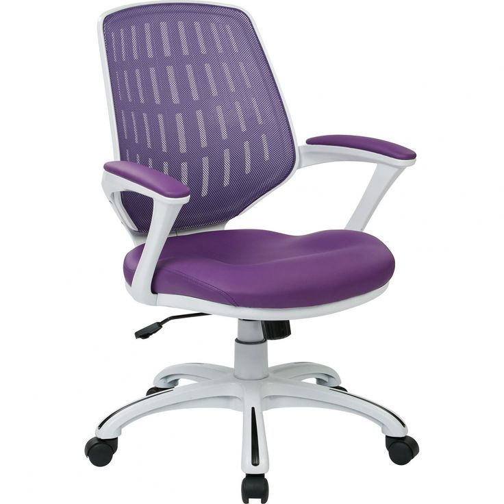 Purple Mesh Office Chair - Best Home Office Furniture Check more at http://www.drjamesghoodblog.com/purple-mesh-office-chair/