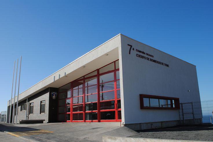Fire Station 7 Compañía de Bomberos de Dichato