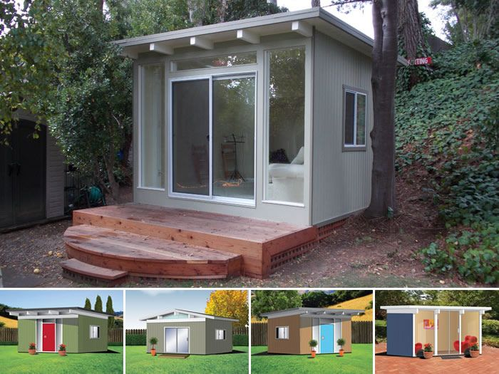 9 best images about eichler sheds on pinterest exposed for Mid century modern tiny house