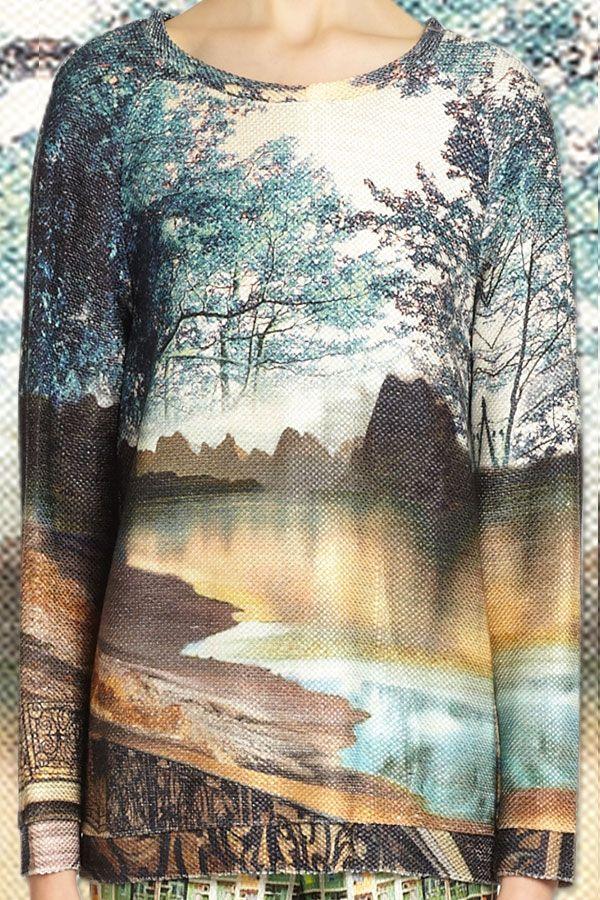 Prints galore from Mary Katrantzou