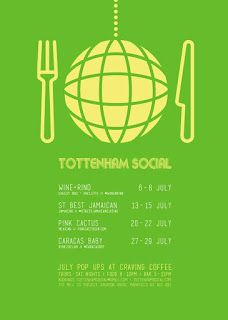 London Pop-ups: Craving Coffee's July 2017 #TottenhamSocial Streetfood Nights in N15 - Thurs-Sat