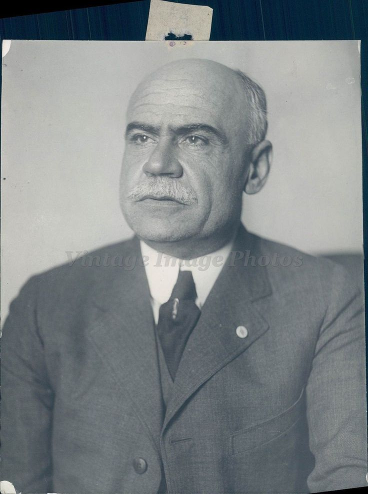 1921 Photo William Tyler Page MD Veteran Clerk House Representatives Author