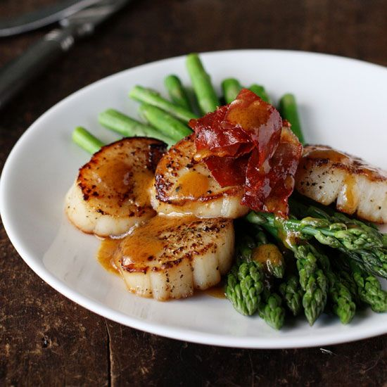 images about Scallops on Pinterest | Seared scallops, Grilled scallops ...