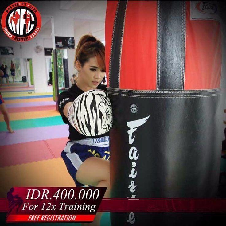 [Morgan Fit Club Promo]  Hanya Rp 400.000 untuk 12x Training dan GRATIS PENDAFTARAN  Muay Thai adalah seni bela diri yang merupakan olahraga khas Kerajaan Thai yang gerakannya menyerupai tinju sehingga sering juga disebut sebagai Tinju Thai. Dijamin bisa jadi aktivitas seru yang baru buat kalian!  Nah bagi kalian yang ingin mendalami Muay Thai ini ada paket Training di Morgan Fit Club : Training 8x  GRATIS 4x  GRATIS BIAYA PENDAFTARAN dengan harga hanya Rp 400.000 untuk paket ini Tubuh makin…