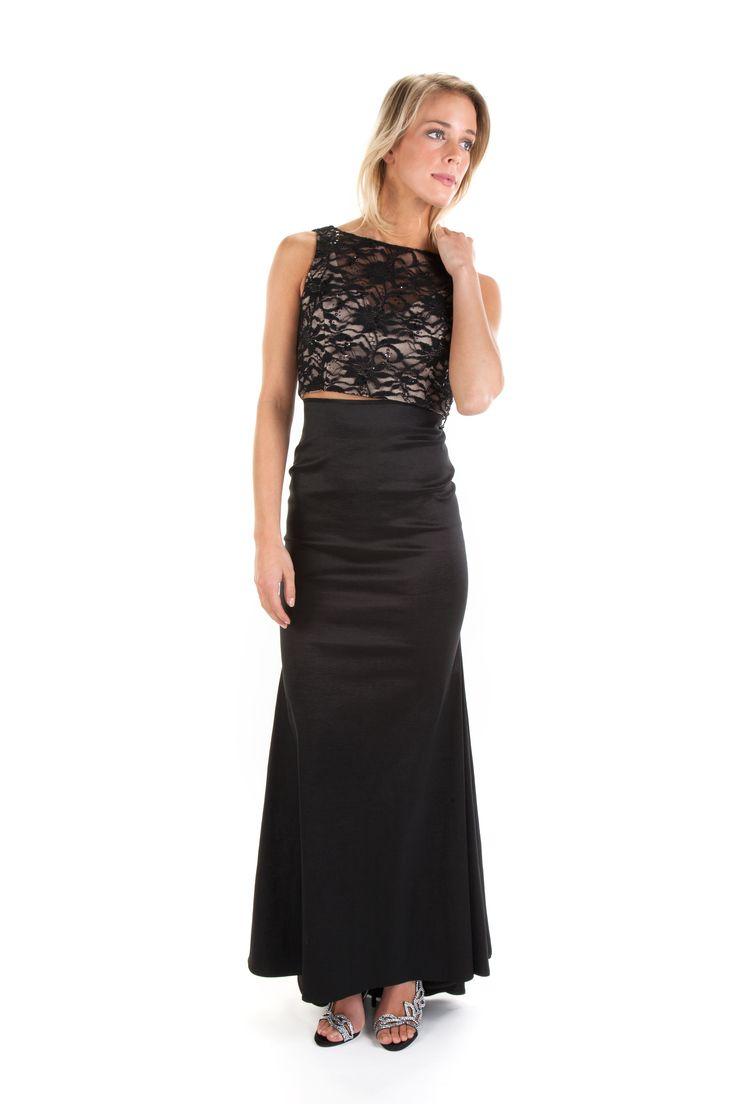 Long black dress von maur