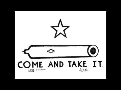 Come and Take It Cannon - The Birth of Texas - YouTube