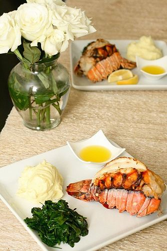 how to cook lobster tail in shell