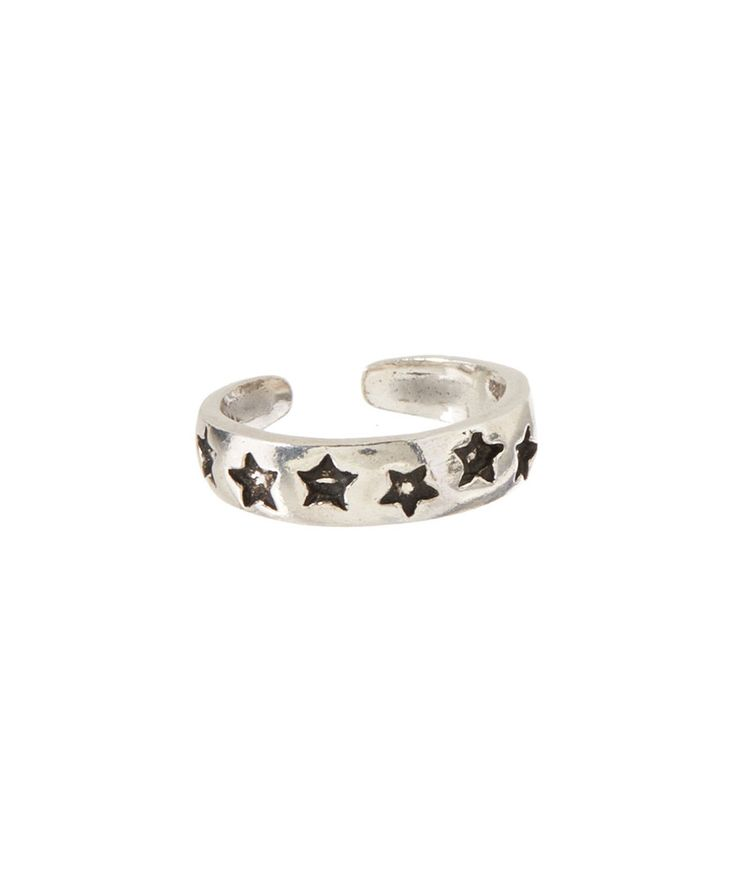 Look at this Tomas Jewelry Sterling Silver Star Toe Ring on #zulily today!