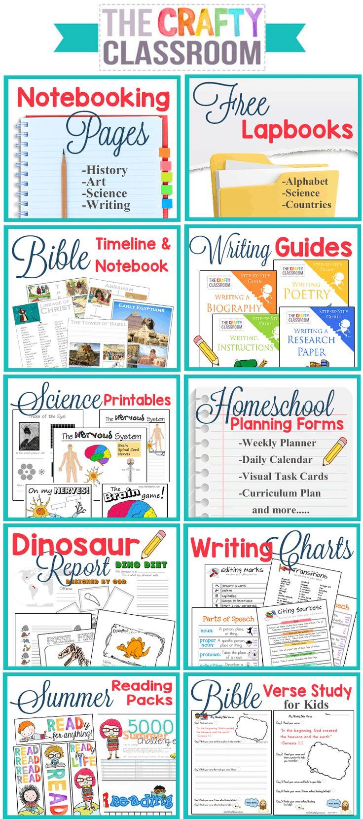 Homeschool Printables on Homeschool, Home schooling
