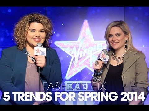 Fashion Fix: 5 Trends for Spring 2014