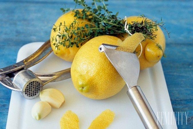 Zázračné účinky cesnakovo-citrónového elixíru: Odstráni tuk v cievach a zbaví telo usadeného odpadu!