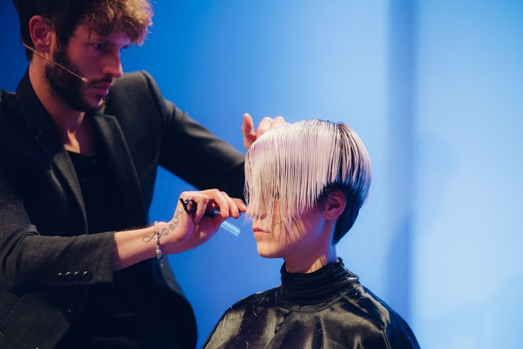 About @james.longagnani Workshop New Collection Fall/Winter 2016-17 The Hair Corner. Photo: @alessia_giovanelli  #shorthair #short #hair #cut #corner #james #workshop #love #work #life #lwl #onstage #picoftheday #wella #wellalife #hairstyle #hairstylist #milano