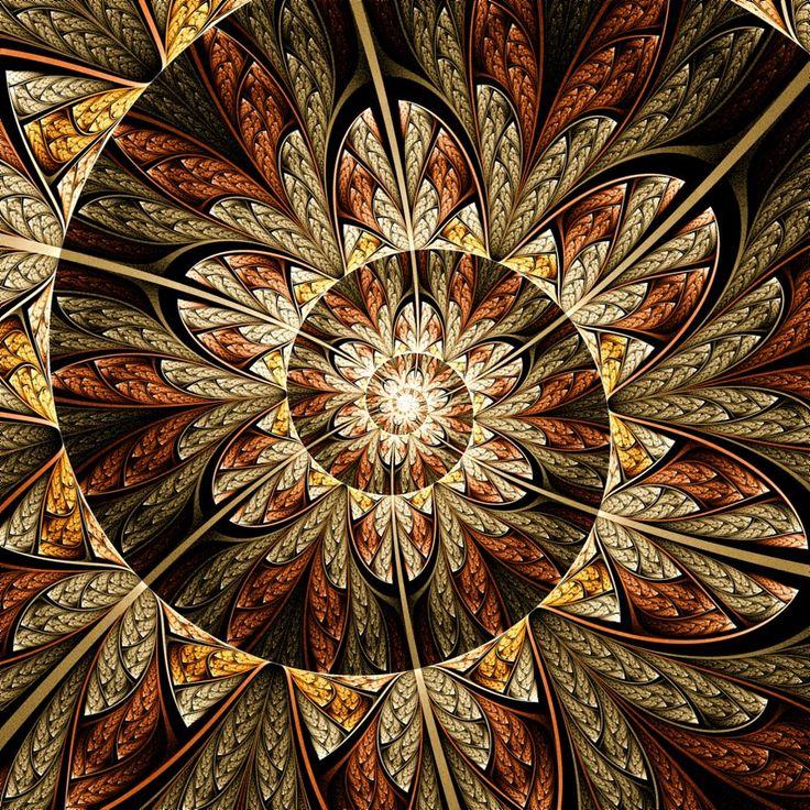 """""""Spiral Plume II"""" - art by rosshilbert, via deviantArt"""