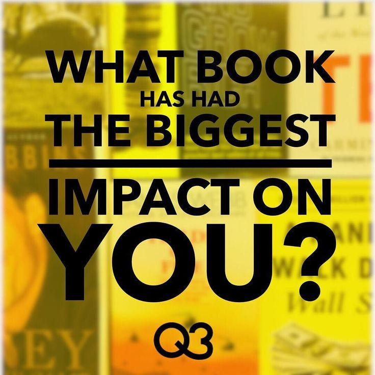"""Just wanted to get to know the Q3 community a little bit! What's the book that's had the biggest impact on YOU? . . . For me it would probably be a book called """"A Long Way Gone"""" by Ishmael Beah. It's made me grateful for what I have and given me the inspiration to see bad times through. . . . Now I want to know yours! Comment below"""