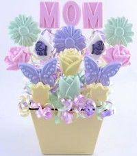 chocolate lollipop molds for lollipop bouquet