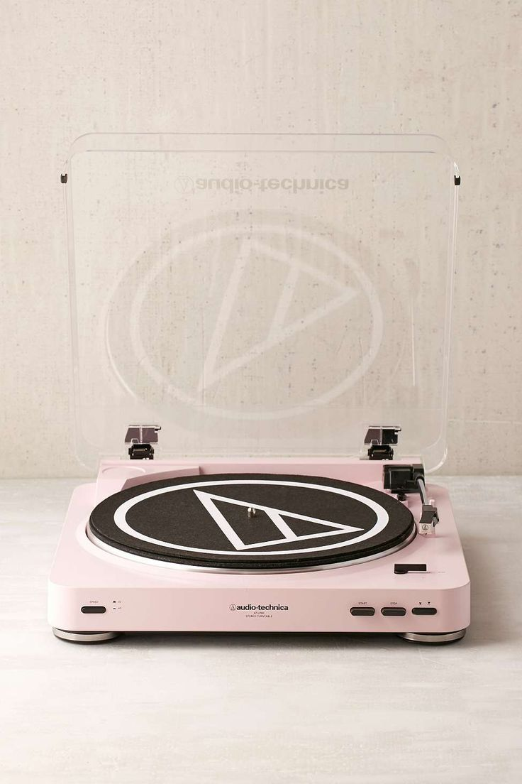 Audio-Technica X UO AT-LP60 Pink Vinyl Record Player