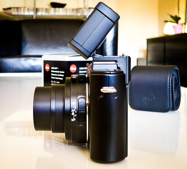 EVF1 on my Leica